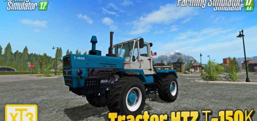 Русская техника для игры мод Мод на трактор ХТЗ Т-150К v2.0 для Farming Simulator 2017