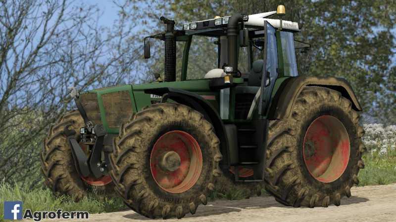 Тракторы для игры мод Мод трактор «Fendt Favorit» V3 для Фермер Симулятор 2017.