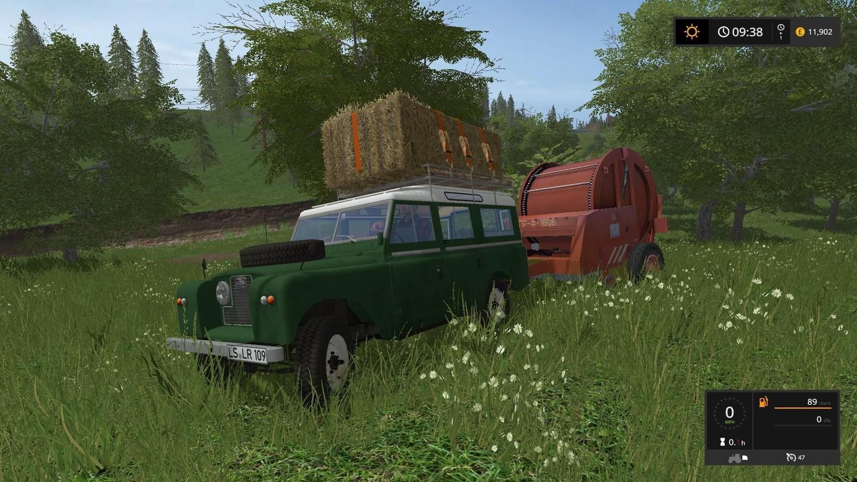 Машины для игры мод Мод машина «Landrover 109 LWB v 1.0» для Farming Simulator 2017