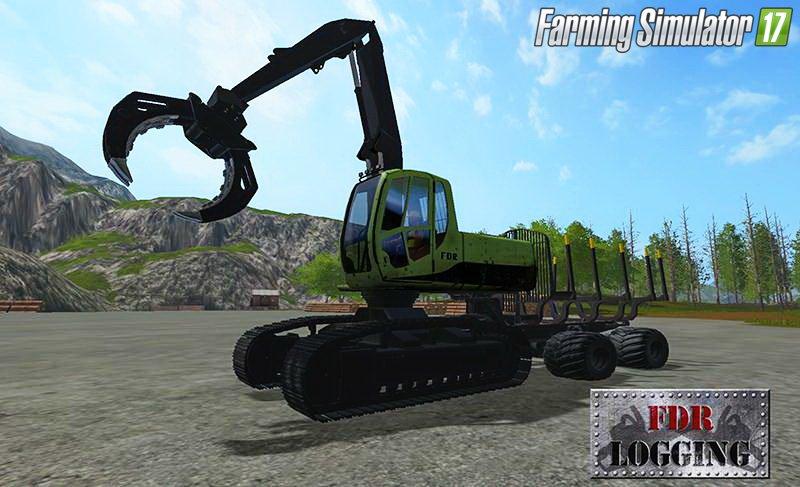 Лесозаготовка для игры мод Набор техники для лесозаготовки для Farming Simulator 2017