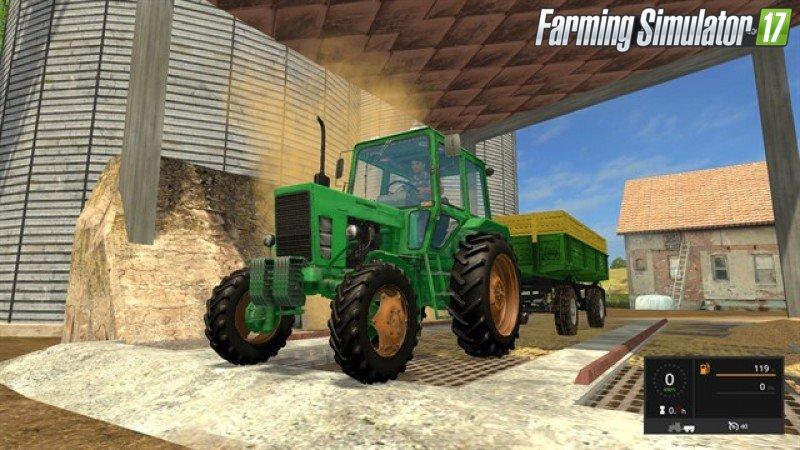 Русская техника для игры мод Мод трактор «МТЗ 82 v 2.0» для Farming Simulator 2017