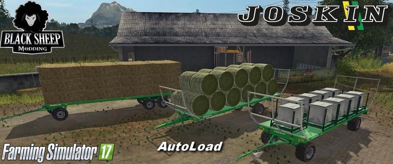 Прицепы для игры мод Мод-пак прицепов Joskin Wagon с автозагрузкой для Farming Simulator 2017