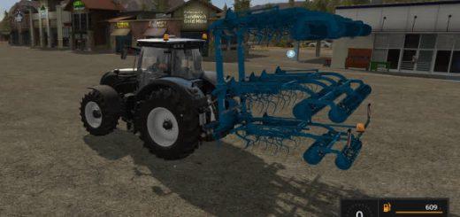 Культиваторы для игры мод Мод культиватора Lemken Korund 750L для Farming Simulator 2017