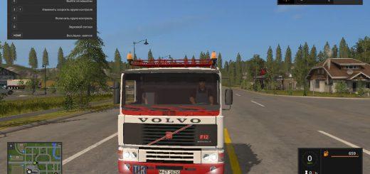 Грузовики для игры мод Мод грузовика Volvo F12 для Farming Simulator 2017
