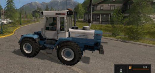 Русская техника для игры мод Мод трактора ХТЗ Т-200К для Farming Simulator 2017