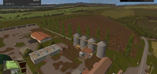 Карты для игры мод Карта «CZECH (Чехия)» для Farming Simulator 2017