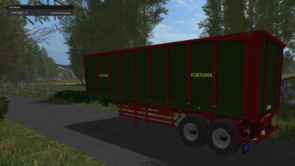 Прицепы для игры мод Мод-пак прицепов Fortuna  v 1.0.5 для Farming Simulator 2017