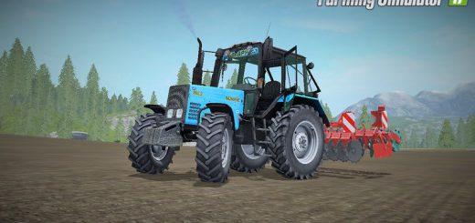 Русская техника для игры мод Мод трактор «МТЗ 892 v 2.0» для Farming Simulator 2017