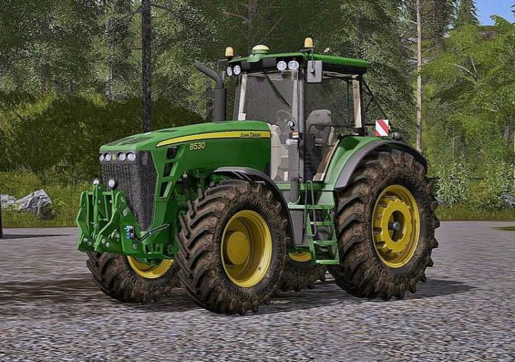 Тракторы для игры мод Мод трактор «John Deere 8030» для Farming Simulator 2017