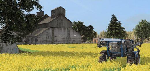 Карты для игры мод Карта «Восточный регион» v1.1 для Farming Simulator 2017