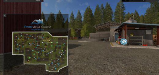 Карты для игры мод Карта «La Vieille Souche» для Farming Simulator 2017