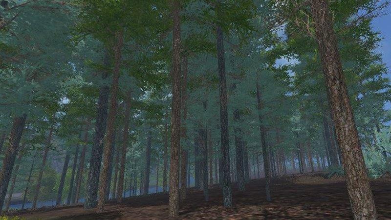 Другие моды для игры мод Мод дерева «Голубая ель» для Farming Simulator 2017