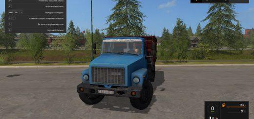 Русская техника для игры мод Мод грузовик ГАЗ-3307 для Farming Simulator 2017