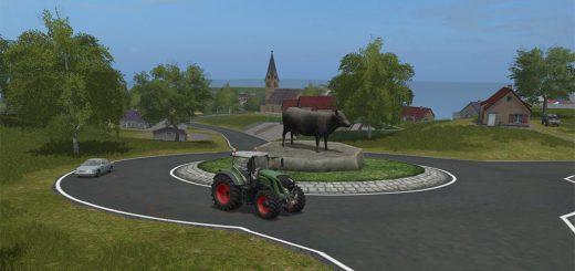 Карты для игры мод Карта Giants Island 09 для Farming Simulator 2017