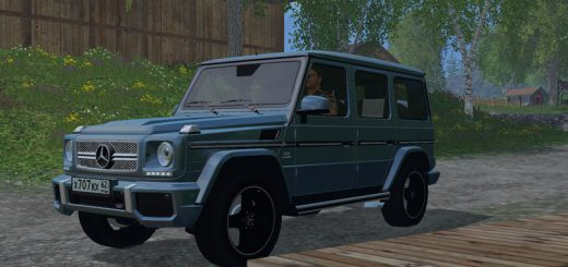 "Машины для Мод машина ""Mercedes Benz G65 AMG"" для Farming Simulator 2015"