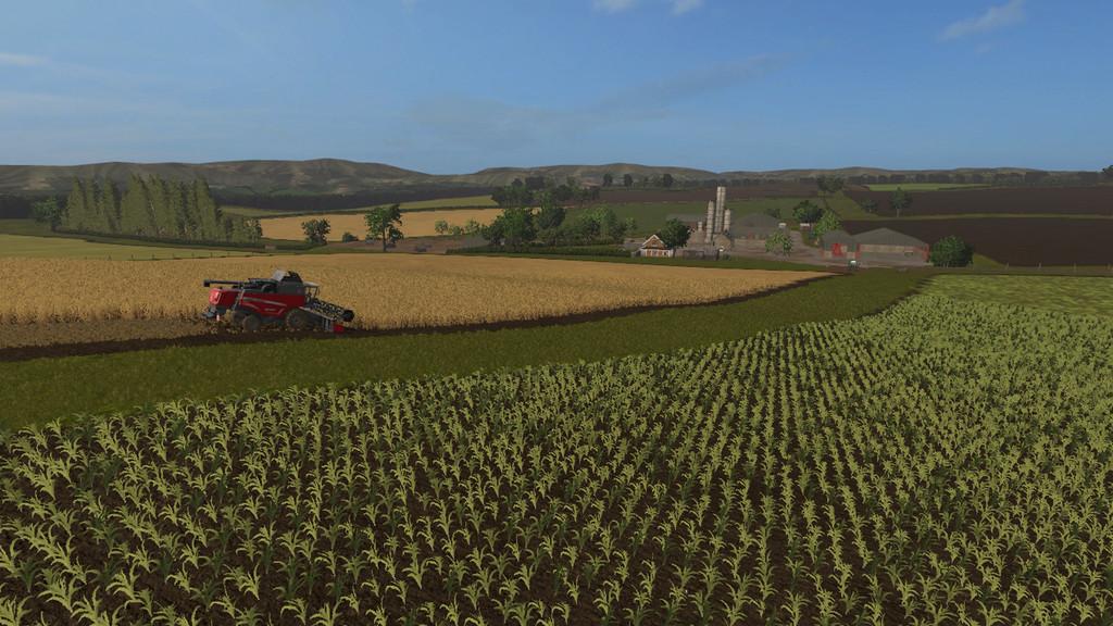 Карты для игры мод Карта Lawfolds для Farming Simulator 2017