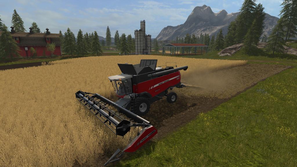"""Другие моды для игры мод Мод """"Chopped Straw v 1.0.0.7"""" для Farming Simulator 2017"""
