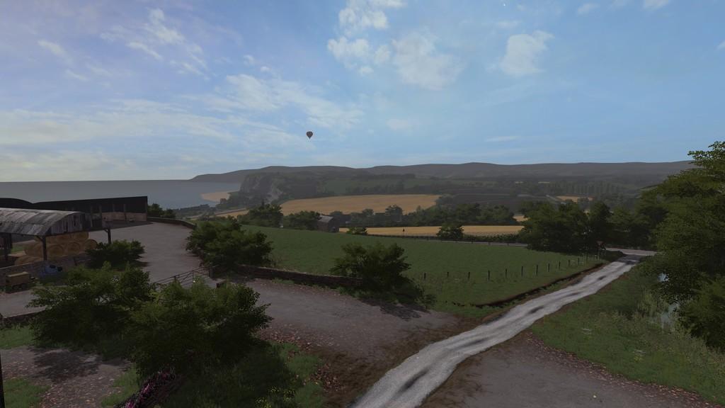 Карты для игры мод Карта Sandy Bay для Farming Simulator 2017