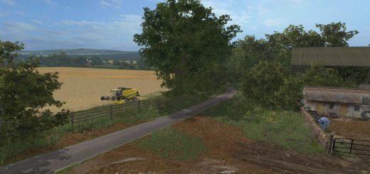 Карты для игры мод Карта Chellington 17 для Farming Simulator 2017
