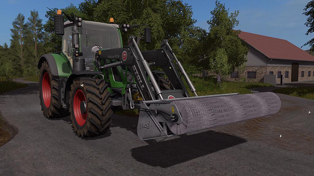 """С/Х инвентарь для игры мод Мод """"Fliegl PowerPro v 1.0"""" для Farming Simulator 2017"""