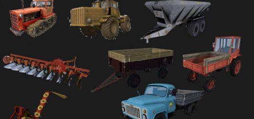 Другие моды для игры мод Мод пак техники для карты «Перестройка» для Farming Simulator 2017