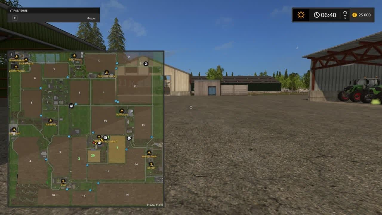 Карты для игры мод Карта Frisian March для Farming Simulator 2017