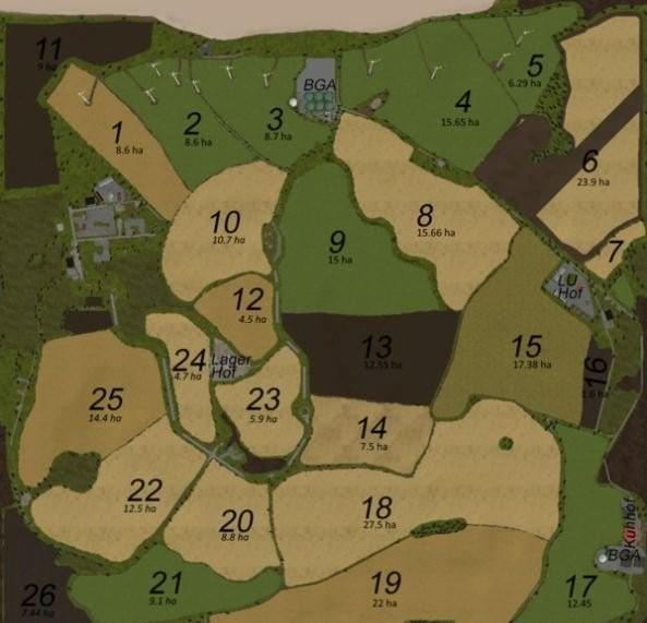 Карты для игры мод Карта On the Baltic Sea v 3.0 для Farming Simulator 2017