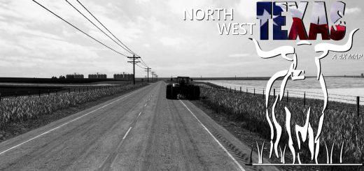 Карты для игры мод Карта North West Texas 4X для Farming Simulator 2017