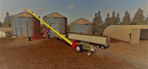 Карты для игры мод Карта Northern Alberta v1 для Farming Simulator 2017