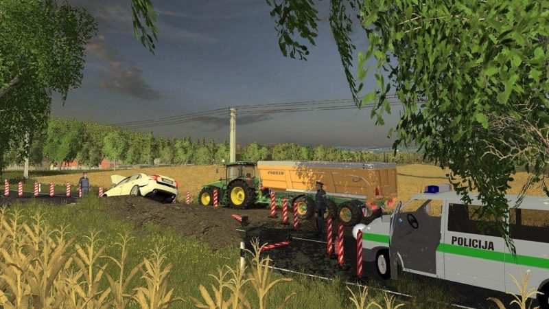 Карты для игры мод Карта Литва v2.0 beta для Farming Simulator 2017