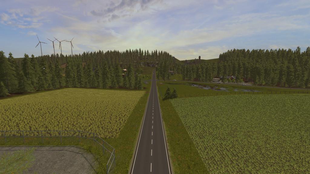 Карты для игры мод Карта Woodshire для Farming Simulator 2017