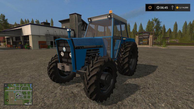 Тракторы для игры мод Мод трактор «Landini 14500 v1.0» для Farming Simulator 2017