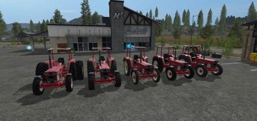 Тракторы для игры мод Мод трактора IHC 644 v 2.1.0 для Farming Simulator 2017