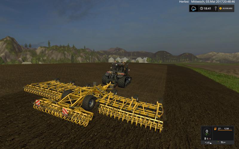 С/Х инвентарь для игры мод Мод культиватор «KOECKERLING ALLROUNDER V1» Farming Simulator 2017