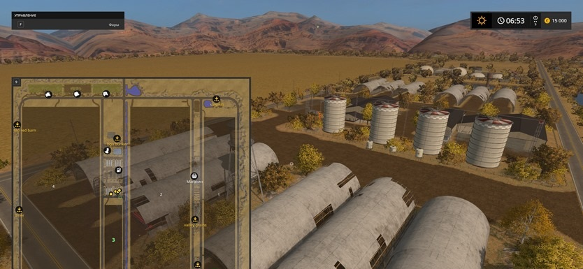 Карты для игры мод Карта «Mustang Valley Ranch» для Farming Simulator 2017