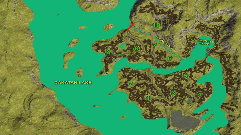 Карты для игры мод Карта «Emerald Valley Logging» для Farming Simulator 2017