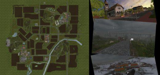 Карты для игры мод Карта «On The Hills» v1.1.0.0 для Farming Simulator 2017
