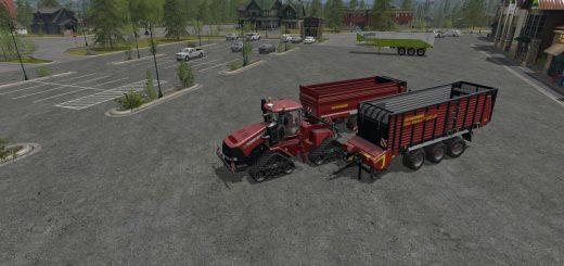 Прицепы для игры мод Мод Пак прицепов Strautmann для Farming Simulator 2017