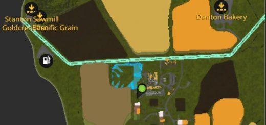 Карты для игры мод Карта «Львовская область» для Farming Simulator 2017
