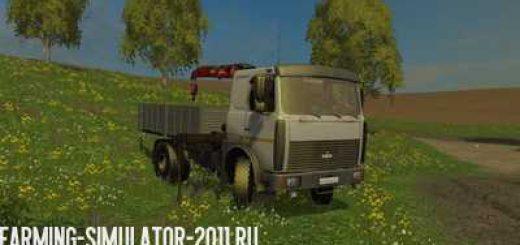 Русская техника для Мод Камаз Маз 5337 с манипулятором v 1.0 для Farming Simulator 2015