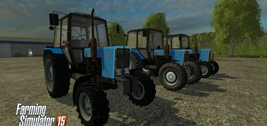 Русская техника для Мод-пак тракторов МТЗ 82.1 для Farming Simulator 2015