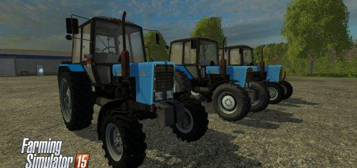 Русская техника для Мод-пак тракторов МТЗ 82.1 для Farming Simulator 2015