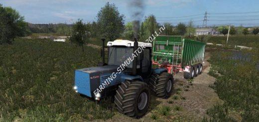 Русская техника для игры мод Мод ХТЗ 17221  для Farming Simulator 2017