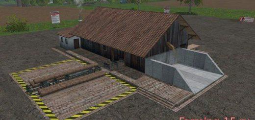 Лесозагатовка для Скачать мод Пилорама для Farming Simulator 2015
