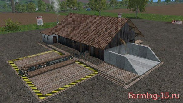 Лесозагатовка для Скачать мод Пилорама для Farming Simulator 2015