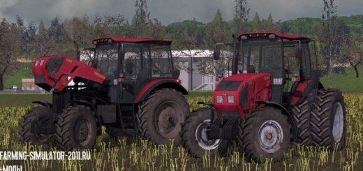 Тракторы для игры мод Мод Трактор МТЗ-1523 v 2.5.0.0 для Farming Simulator 2017