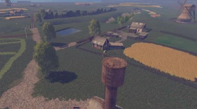 Русские карты для Русская карта «Возвращение» для Farming Simulator 2015