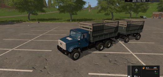 Русская техника для игры мод Мод Зил 4331 v 1.1 для Farming Simulator 2017