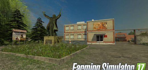 Карты для игры мод Русская карта «Колхоз Рассвет 2» для Farming Simulator 2017