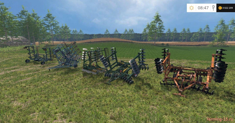 С/Х инвентарь для Мод-пак русских культиваторов v1.1 для Farming Simulator 2015